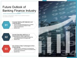 Future Outlook Of Banking Finance Industry