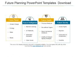 Future Planning Powerpoint Templates Download