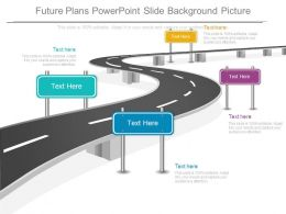 Future Plans Powerpoint Slide Background Picture