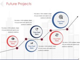 Future Projects Powerpoint Slide Information