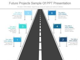 Future Projects Sample Of Ppt Presentation