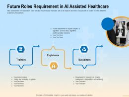 Future Roles Requirement In AI Assisted Healthcare These Ppt Powerpoint Presentation File Guide