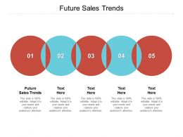 Future Sales Trends Ppt Powerpoint Presentation Styles Tips Cpb