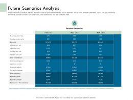 Future Scenarios Analysis Ppt Powerpoint Presentation Icon Graphics