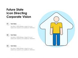Future State Icon Directing Corporate Vision