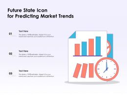 Future State Icon For Predicting Market Trends