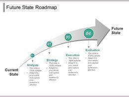 Future State Roadmap Powerpoint Slide Download