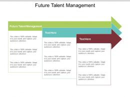 Future Talent Management Ppt Powerpoint Presentation File Slide Cpb