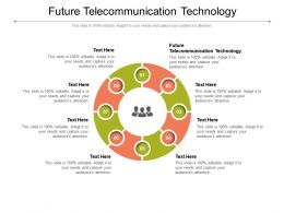 Future Telecommunication Technology Ppt Powerpoint Presentation File Graphics Design Cpb