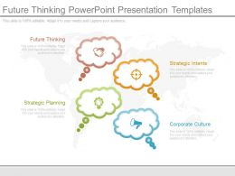 Future Thinking Powerpoint Presentation Templates