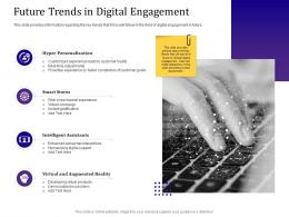 Future Trends In Digital Engagement Empowered Customer Engagement Ppt Powerpoint Ideas