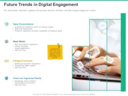 Future Trends In Digital Engagement Intelligent Assistants Ppt Powerpoint Presentation Icon