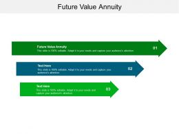 Future Value Annuity Ppt Powerpoint Presentation Layouts Picture Cpb