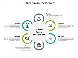 Future Value Investment Ppt Powerpoint Presentation Pictures Objects Cpb