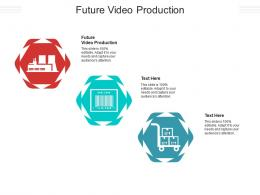 Future Video Production Ppt Powerpoint Presentation Icon Example Introduction Cpb