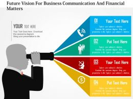 future_vision_for_business_communication_and_financial_matters_flat_powerpoint_design_Slide01