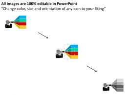 Future Vision For Business Communication And Financial Matters Flat Powerpoint Design