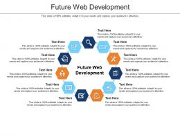 Future Web Development Ppt Powerpoint Presentation Template Cpb