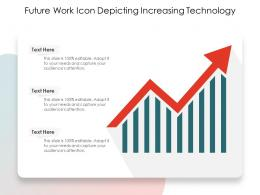 Future Work Icon Depicting Increasing Technology