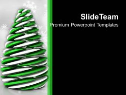 Futuristic Christmas Tree Holidays PowerPoint Templates PPT Themes And Graphics