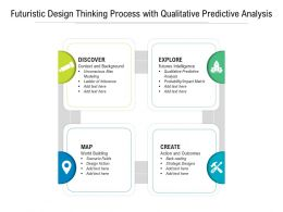 Futuristic Design Thinking Process With Qualitative Predictive Analysis