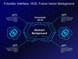 Futuristic Interface Hud Future Vector Background