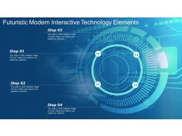 Futuristic Modern Interactive Technology Elements