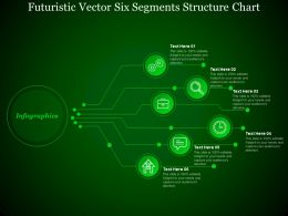 futuristic_vector_six_segments_structure_chart_Slide01