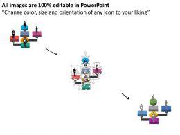 28248628 Style Essentials 1 Our Team 6 Piece Powerpoint Presentation Diagram Infographic Slide