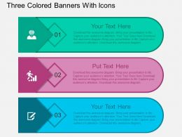 fx_three_colored_banners_with_icons_flat_powerpoint_design_Slide01