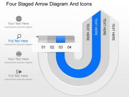 fy_four_staged_arrow_diagram_and_icons_powerpoint_template_Slide02