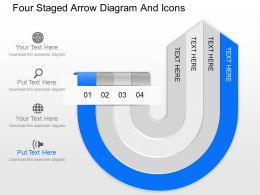 fy_four_staged_arrow_diagram_and_icons_powerpoint_template_Slide04