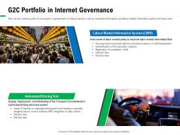 G2C Portfolio In Internet Governance Commissioners Ppt Powerpoint Presentation Ideas Show