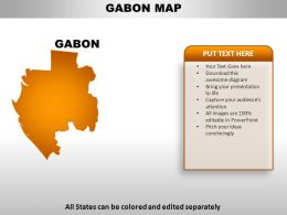 Gabon Country PowerPoint Maps