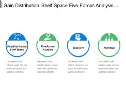 Gain Distribution Shelf Space Five Forces Analysis Supplier Concentration
