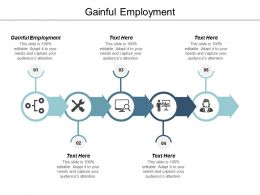 Gainful Employment Ppt Powerpoint Presentation File Graphics Cpb