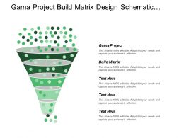Gama Project Build Matrix Design Schematic Design Development