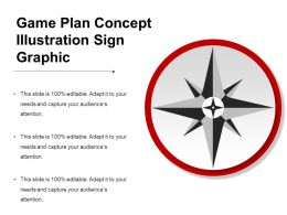 Game Plan Concept Illustration Sign Graphic
