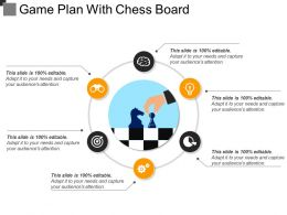 Game Plan With Chess Board