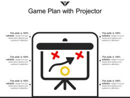 Game Plan With Projector