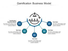 Gamification Business Model Ppt Powerpoint Presentation Layouts Display Cpb