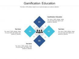Gamification Education Ppt Powerpoint Presentation Ideas Format Cpb