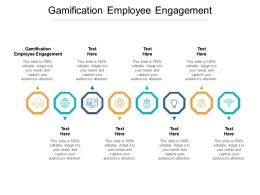 Gamification Employee Engagement Ppt Powerpoint Presentation Styles Design Ideas Cpb