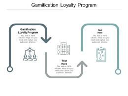 Gamification Loyalty Program Ppt Powerpoint Presentation Outline Cpb