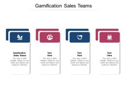 Gamification Sales Teams Ppt Powerpoint Presentation Icon Example Topics Cpb