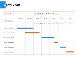 Gantt Chart Finance J234 Ppt Powerpoint Presentation File Ideas