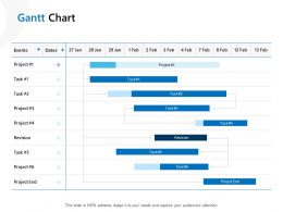 Gantt Chart Management Ppt Powerpoint Presentation Layouts Example