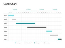 Gantt Chart Marketing Ppt Powerpoint Presentation Pictures Inspiration