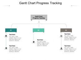 Gantt Chart Progress Tracking Ppt Powerpoint Presentation Portfolio Background Cpb