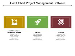 Gantt Chart Project Management Software Ppt Powerpoint Summary Pictures Cpb